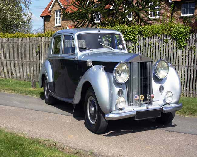 1954 Rolls Royce Silver Dawn
