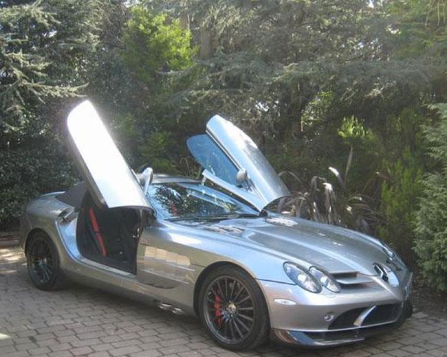 Mercedes Mclaren SLR Hire