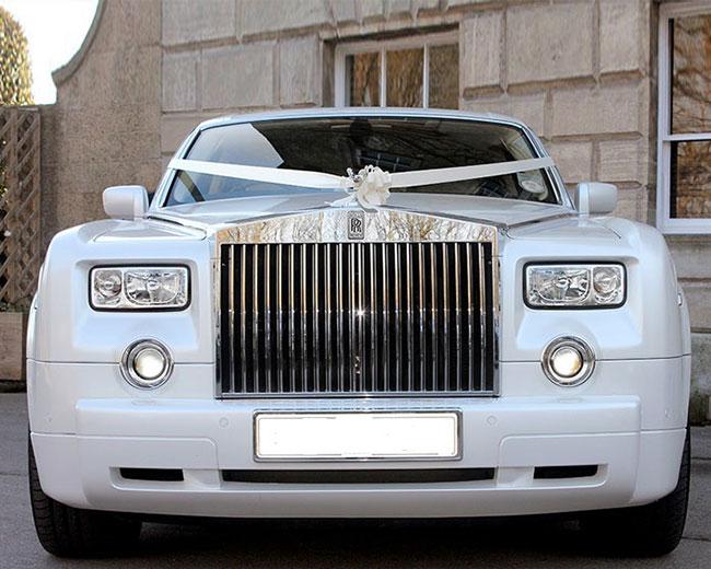 Rolls Royce Phantom - White hire